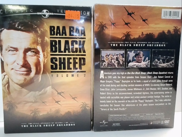Baa Baa Black Sheep Vol 2 - final episodes of the first season