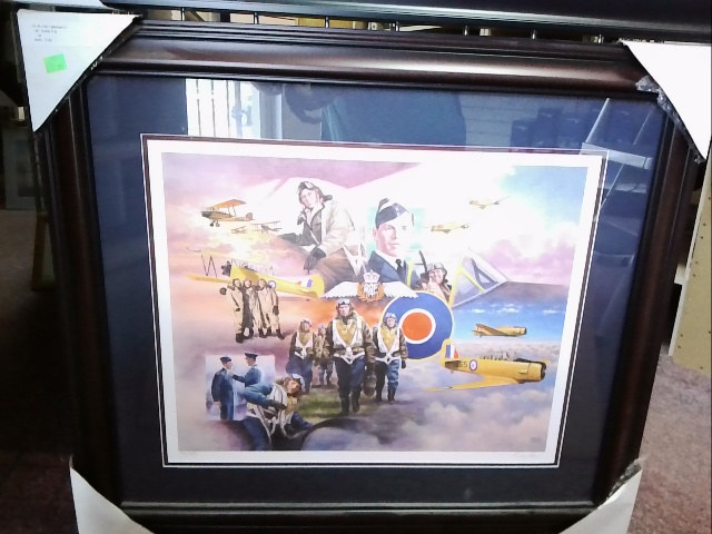 British Commonwelth Air Training Plan Print by David Craig