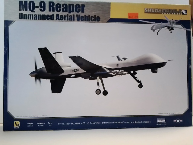 MQ-9 Reaper Unmanned Areial Vehicle 1:48