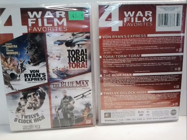 4 War Film Favourites