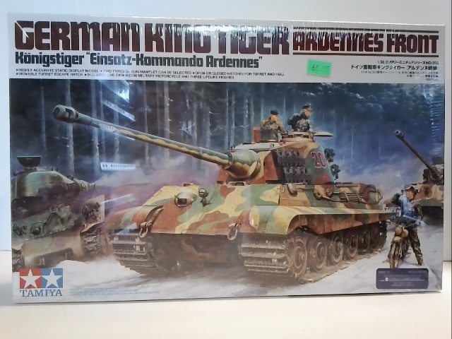 King Tiger Ardennes Front