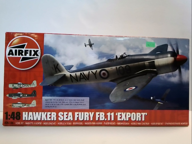 Haawker Sea fury FB.11 Export 1:48